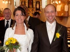 Trauung von Sandra & Hannes in der Pfarre Nappersdorf
