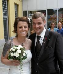Kirchliche Trauung von Astrid & Johannes in der Tuchfabrik Linz