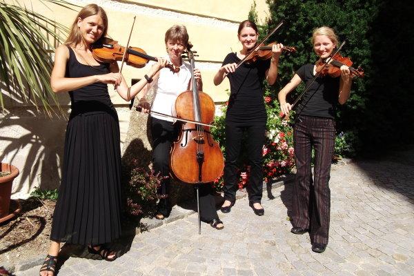 Streichquartett aus Wien für die Hochzeit